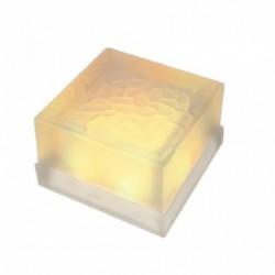 GLASS BRICK 1.3 Watt 18 LEDS RGB 100x100x60