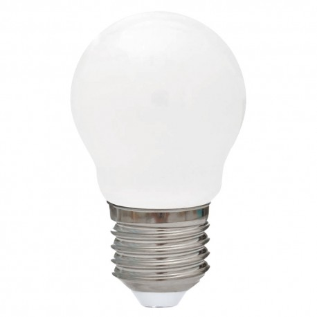 4W LED Fancy Round ES Frosted Day Light