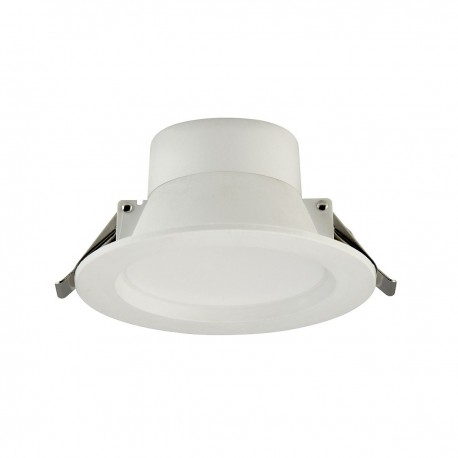 8W LED D/Light White Fixed Tri Colour Dimmable