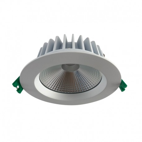 12W LED White COB D/Light Warm White Dimmable