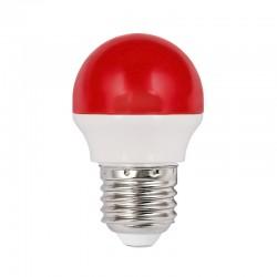 LED F/Round 1.8W E27 Red