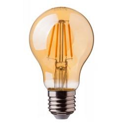 6W LED Filament GLS A60 LED ES Warm White Amber