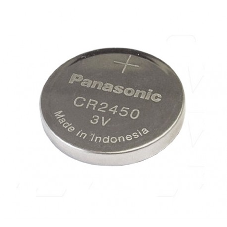 Panasonic Lithium Coin Cell 3V Battery CR2450