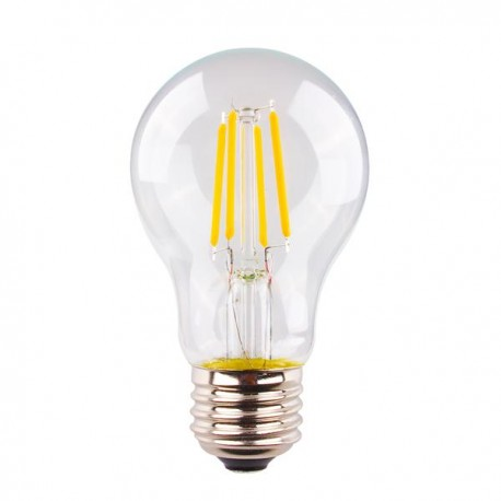 4W LED Fiament GLS A60 E27 Warm White Dimmable