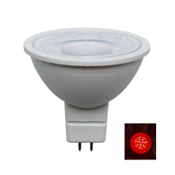 LED MR16 12V AC/DC 5W Red