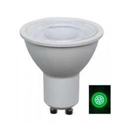 LED GU10 (240V) AC 5W Green