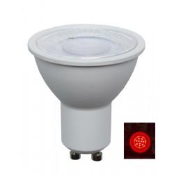 LED GU10 (240V) AC 5W Red