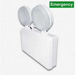 5w LED Adjustable Twin Spot Emergency Light, Surface Mounted, IP20