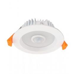10W LED D/Light Fixed Motion Sensor Warm White