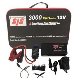 SJS3000: 12V Smart Jump Start Charger & Portable Power Supply