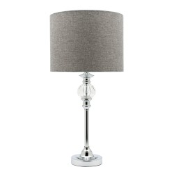 Beverly Table Lamp Dark Grey Shade