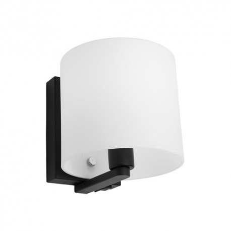Tida Wall Light Black with Switch