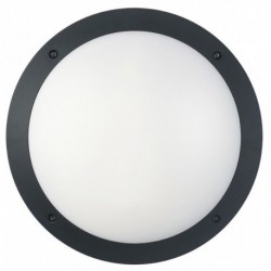 Black Cool White Round