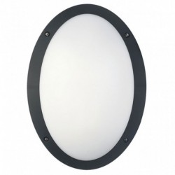 Black Cool White Oval